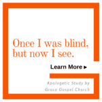 Once I was Blind, but now I see. Learn more.