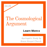The Cosmological Argument. Apologetic Study. Learn more.