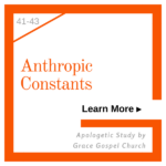 Anthropic Constants. Learn more. Apologetic Study.