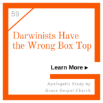 Darwinists have wrong box top. Learn more